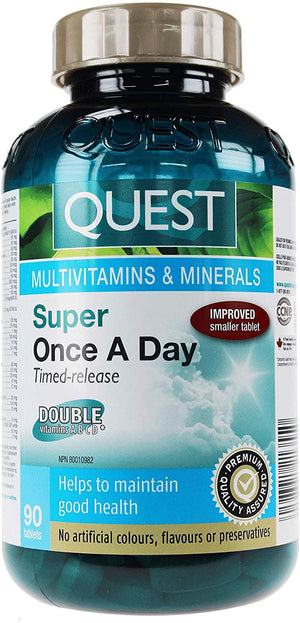 Quest Super Once A Day Multi - TR, 90 tabs