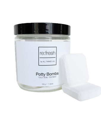 All Things Jill Re:fresh Potty Bombs, 11 ct
