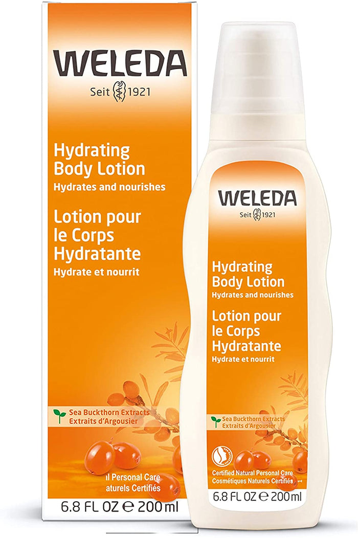 Weleda Sea Buckthorn Hydrating Lotion, 200 ml