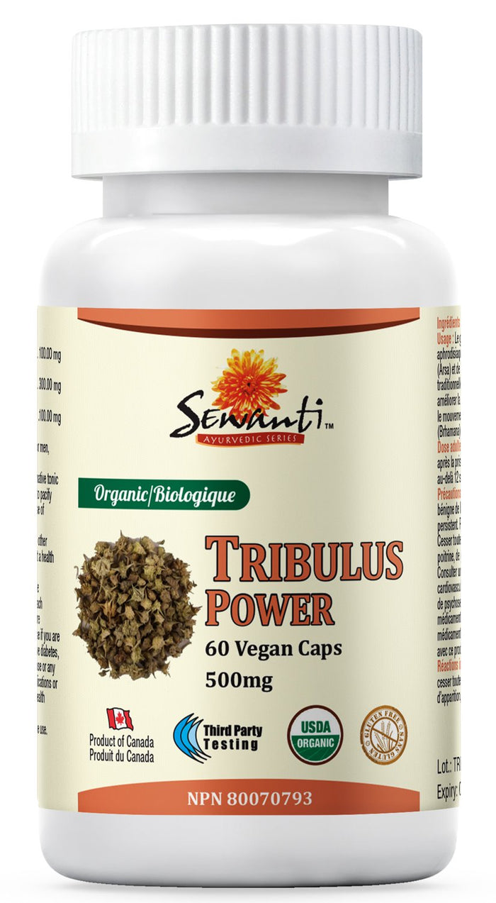 Sewanti Organic Tribulus Power - 60 Vegi Caps
