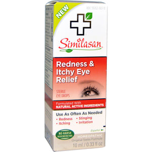 Similasan Similasan Redness/Itchy Eye, 10 ml