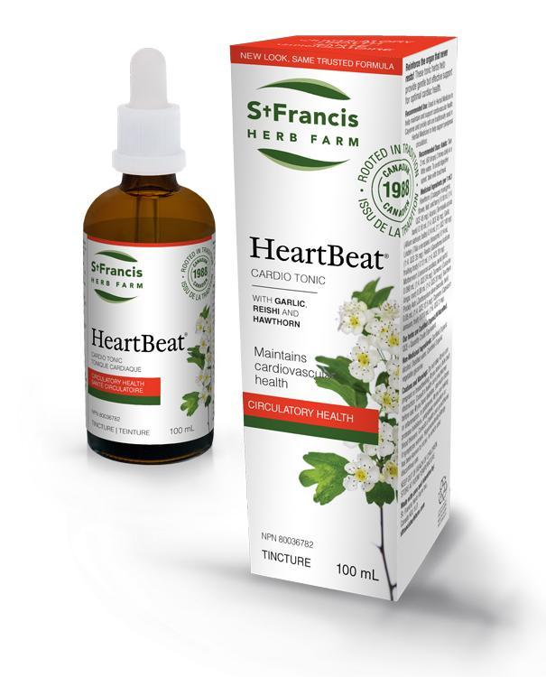 St. Francis Herb Farm Heart Beat Tincture