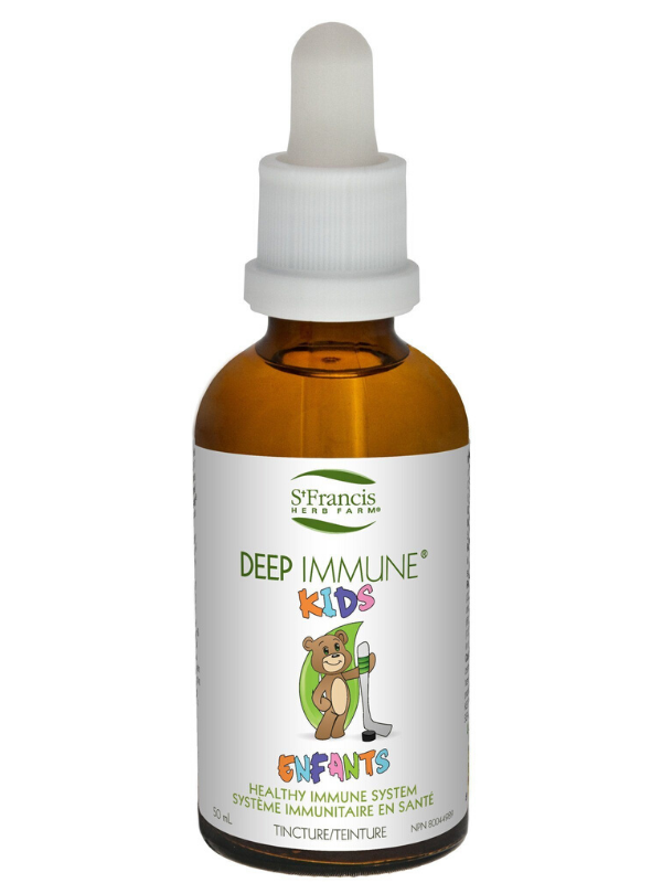St. Francis Herb Farm Deep Immune Tincture For Kids