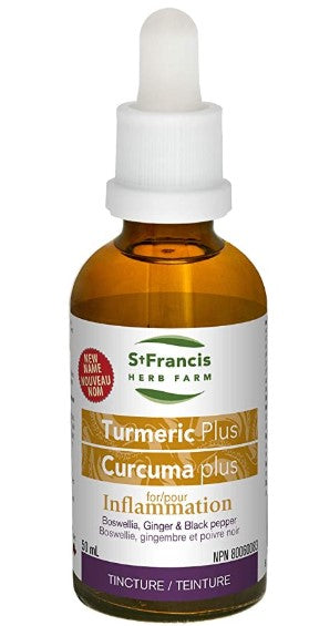 St. Francis Herb Farm Turmeric Plus, 50 ml