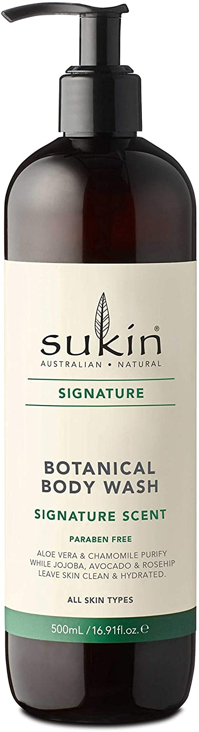 Sukin Botanical Body Wash, 500 ml