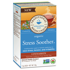Traditional Medicinals Organic Stress Soother Cinnamon, 20 bags