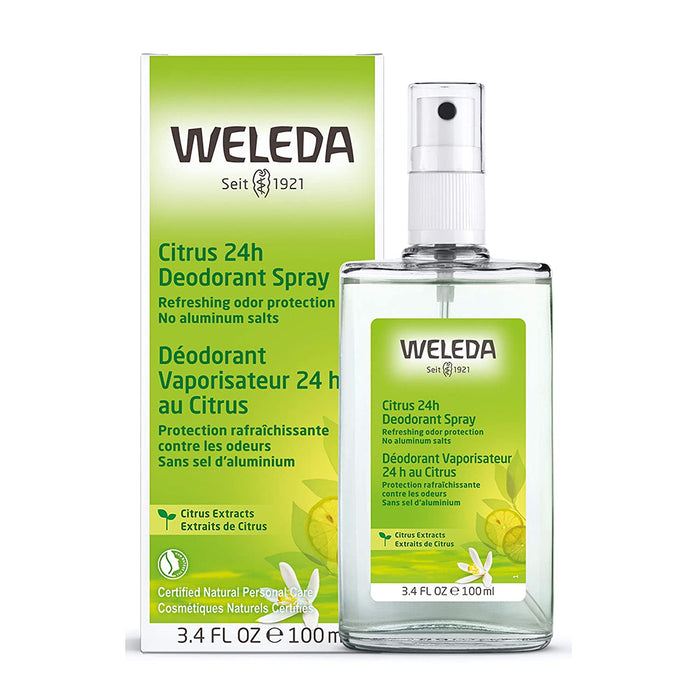 Weleda Citrus 24-H Deodorant Spray, 100 ml