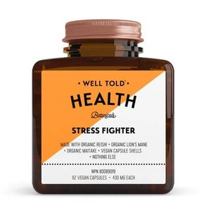 Well Told Health Stress Fighter, 62 vegan capsule