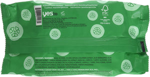 Yes To Cucumber Wipes, 10 ct