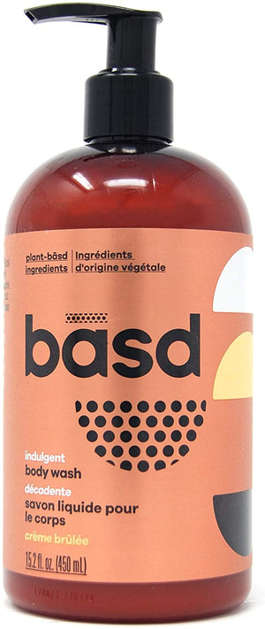 basd Body Wash Indulgent Creme Brulee, 450 ml