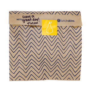 Lunchskins Paper Quart Bags - Chev, 50 Counts
