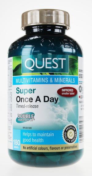 Quest Multivitamins & Minerals Super Once a Day