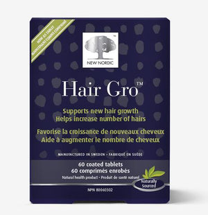 New Nordic Hair Gro 60 Coated Tablets