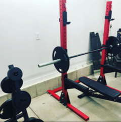 Squat Stand Red