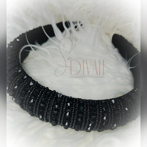 BLACK QUEEN HEADBAND