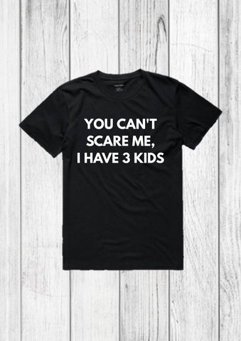Funny Dad of 3 shirt