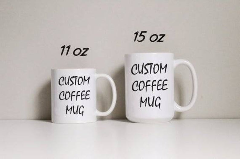 Custom 15 oz coffee mug