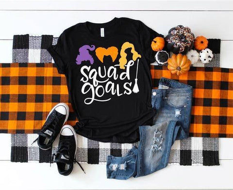 Squad Goals Hocus Pocus shirt for Halloween