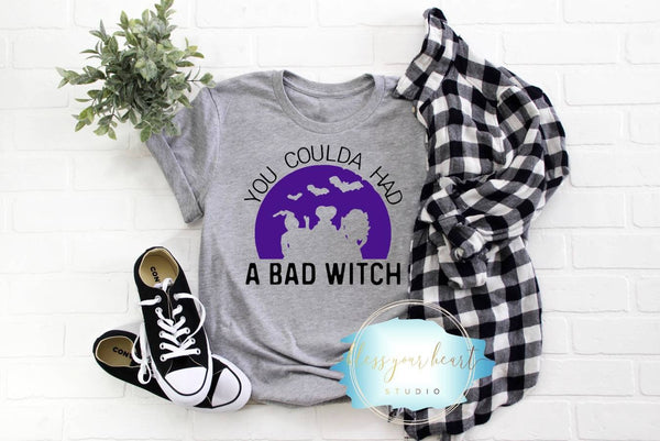 You Coulda Had A Bad Witch Shirt Halloween Tee