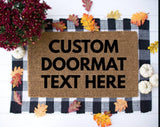 Custom Doormat - Personalized Door Mat - Customized Outdoor Rug - Housewarming Gift - New Home Gift - Realtor Gift - Unique Birthday Present