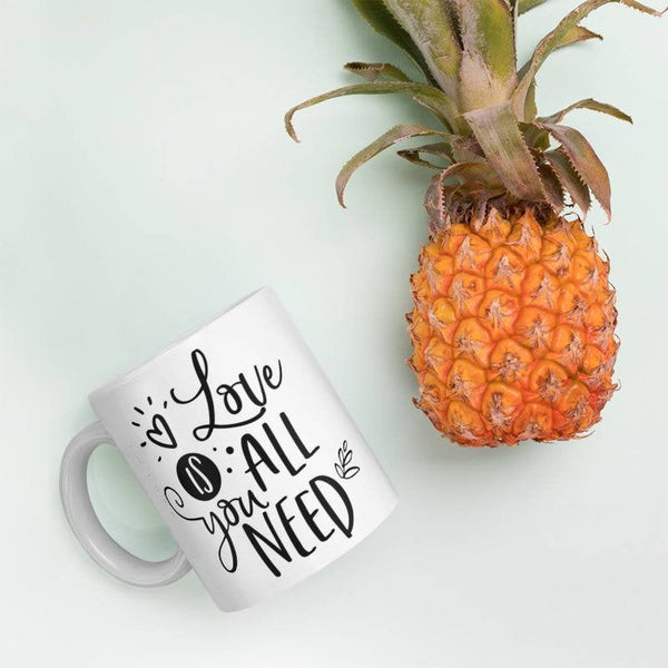 All you need is love / quote mug / Love is all you need / love mug / mug gift gifts for her Birthday gift Coffee Mug Ceramic mug Design Mug