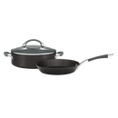 Anolon Endurance 26cm Skillet and 28cm Sauteuse 2pce Set 840490 RRP $399.95