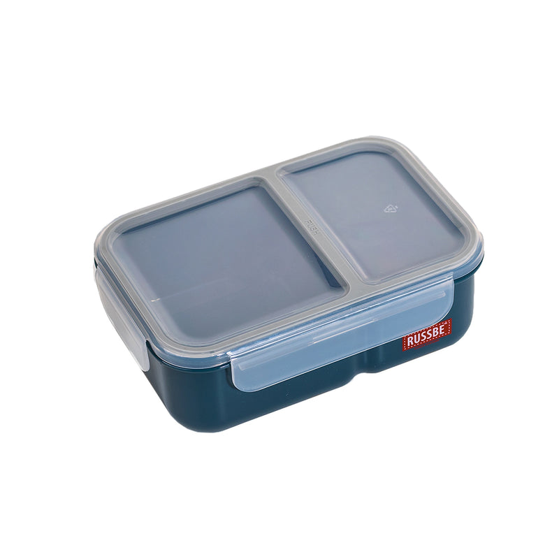 Inner Seal 2 Compartment Lunch Bento 1.1Ltr- Navy 8761NY