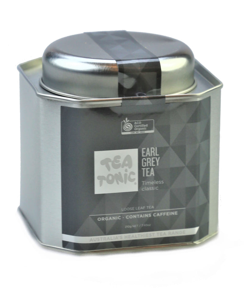 Tea Tonic Earl Grey Tea Caddy Tins EGTT