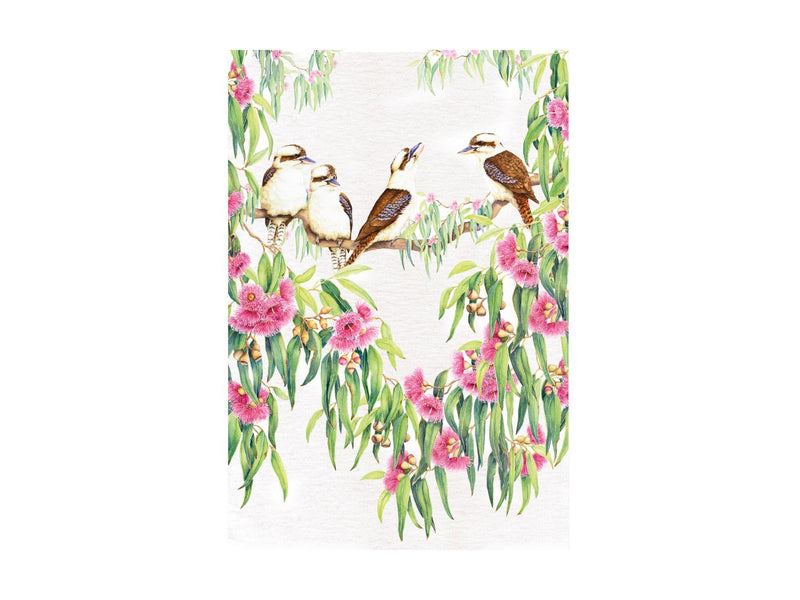 MW Royal Botanic Gardens Garden Friends Tea Towel 50x70cm Kookaburra GX0265