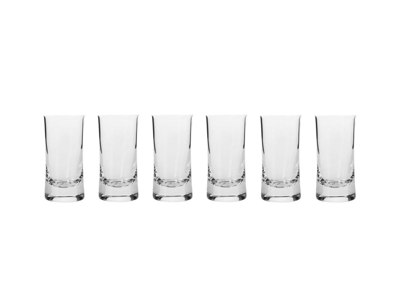 KR Harmony Shot Glass 40ml Set of 6 Gift Boxed KR0313