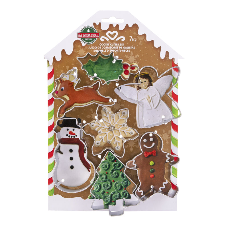 Xmas Cookie Cutter Carded Set 7 2759-1