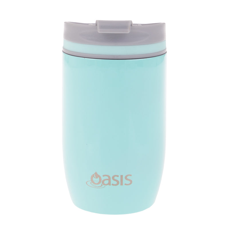 Oasis S/S Double Wall Insulated Travel Cup 300ML Spearmint 8913SM