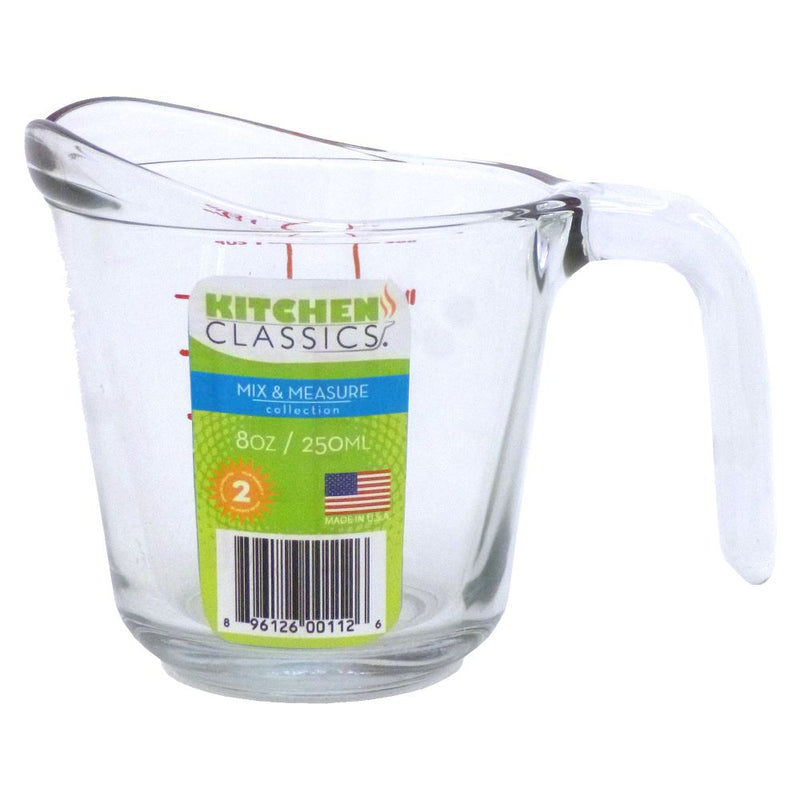Glass Measure Jug 1Cup 250ml 4221