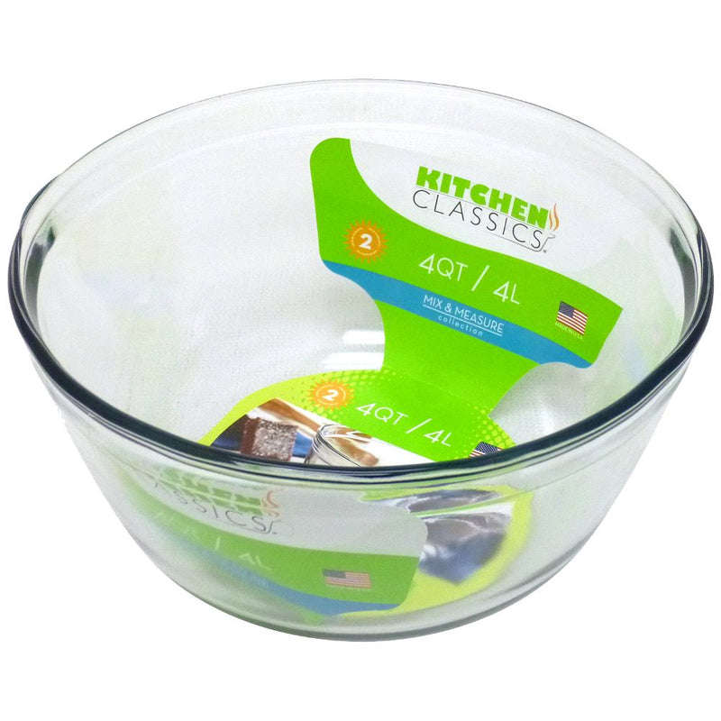 GLASS MIXING BOWL 4 LITRE 4228