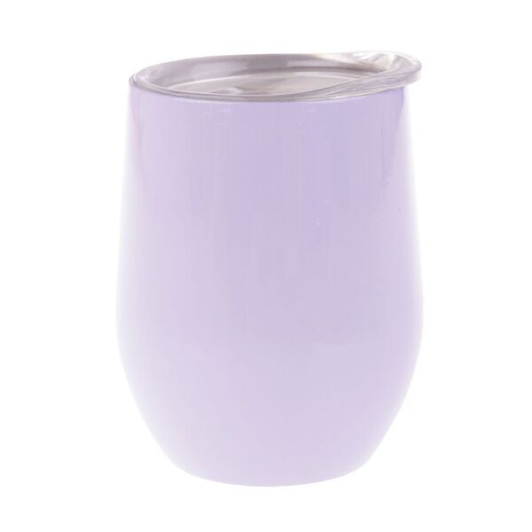 Oasis S/S Double Wall Insulated Wine Tumbler 330ml Lilac 8898LC