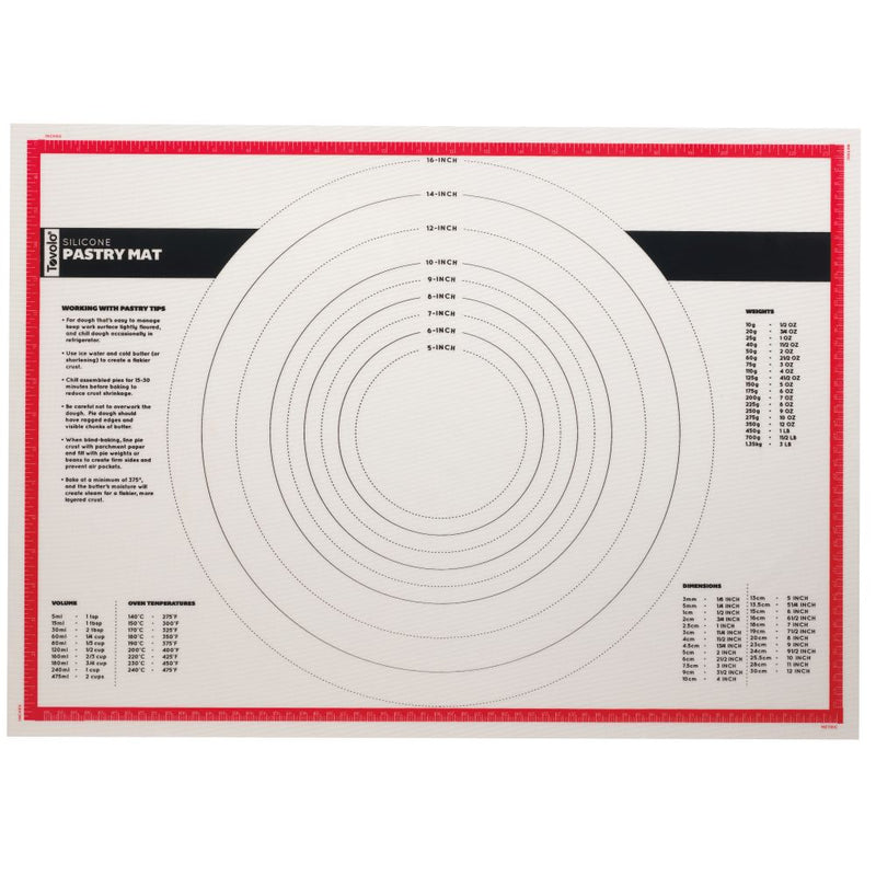 Silicone Pastry Mat 63.5 x45.5cm 4832-1
