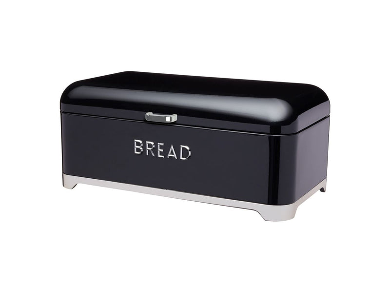 KC Lovello Bread Bin 42x22x19cm Black HK0869