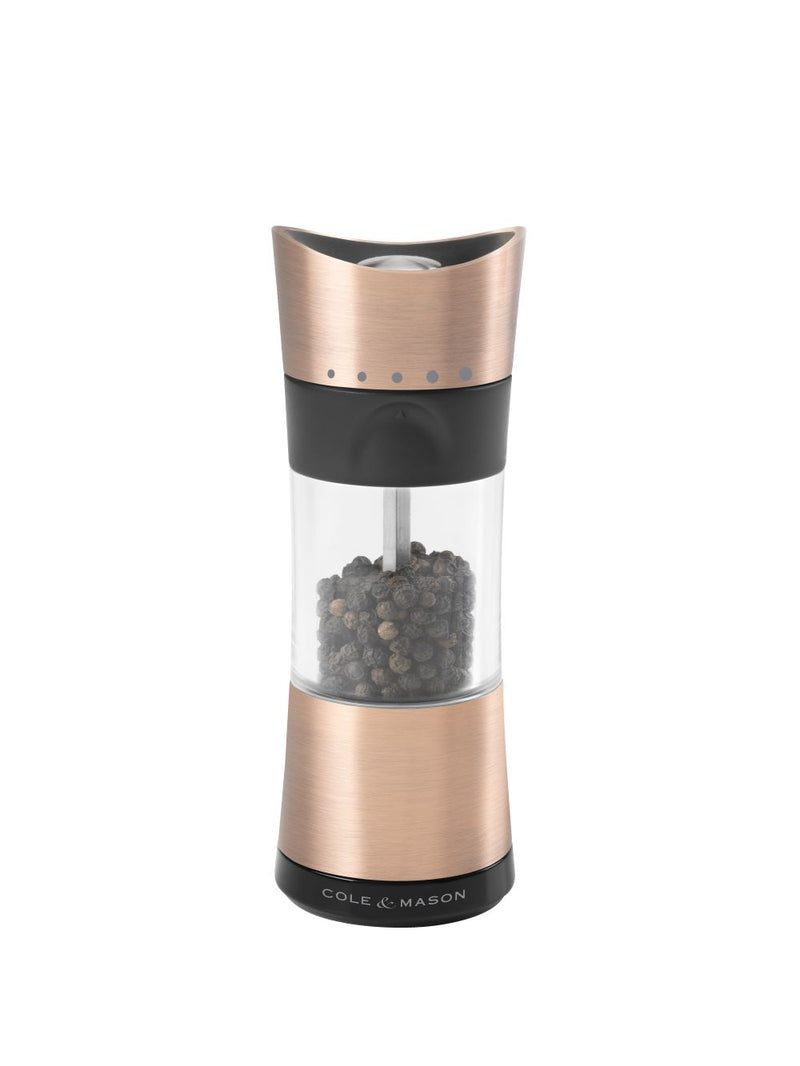 Cole Mason Inverta Horsham Copper Pepper Mill 31246
