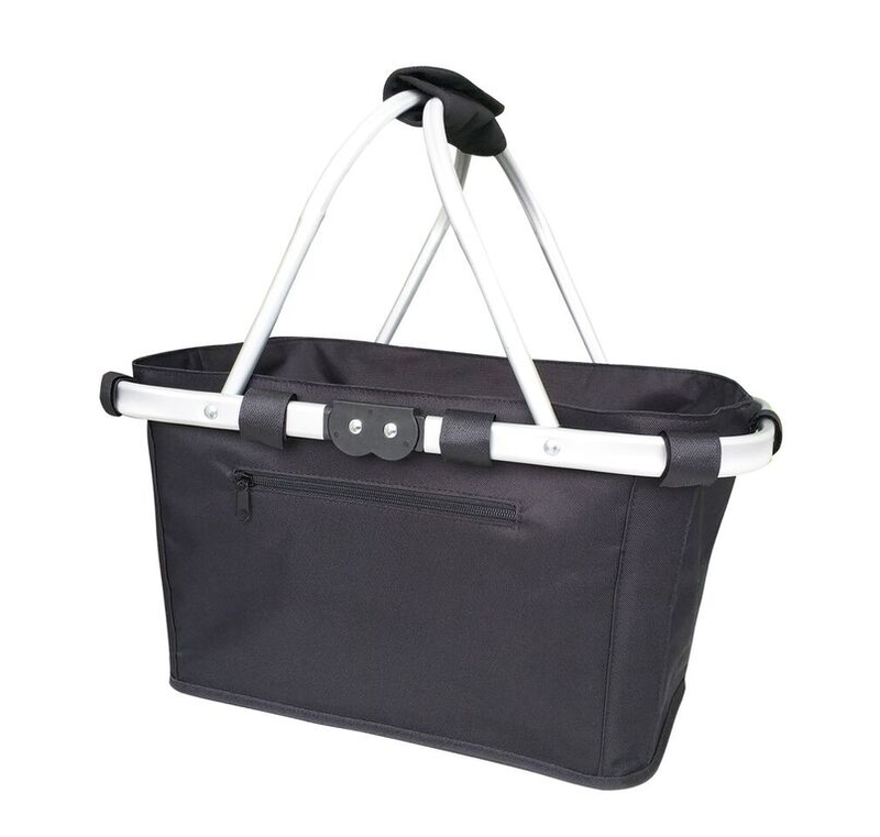 Sachi Two Handle Carry Basket Black 4698BK