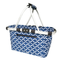 Sachi Two Handle Carry Basket Moroccan Navy 4697MN