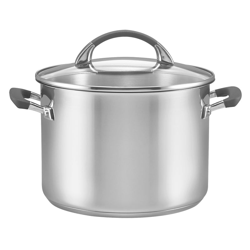 Anolon Endurance SS 24cm 7.6L Covered Stockpot 743890 RRP $199.95