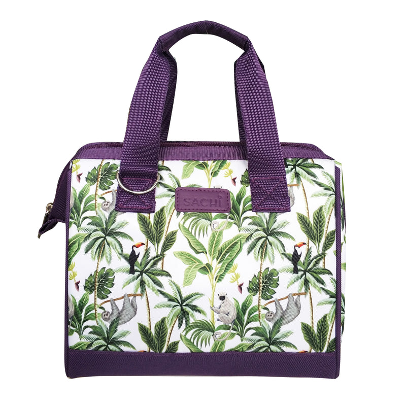 Sachi Style 34 Insulated Lunch Bag Jungle Friends 8828JF