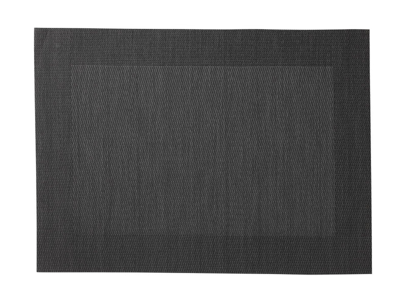 MW Placemat Wide Border 45x30cm Charcoal GI0030