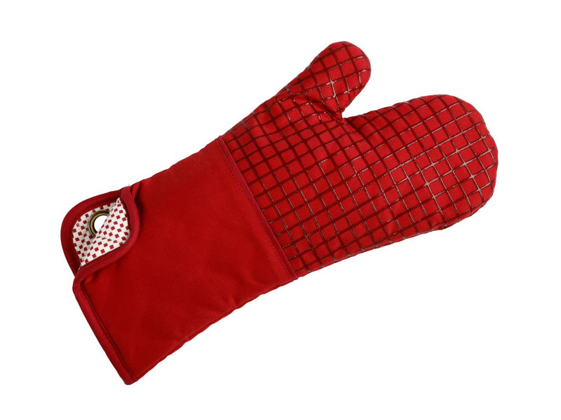 MW Epicurious Oven Mitt Red HI0004