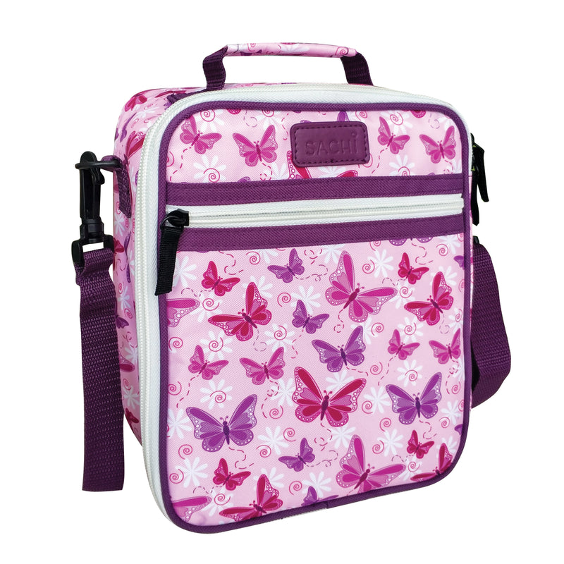 Sachi Style 225 Insulated Junior Lunch Tote Butterflies 8821BF