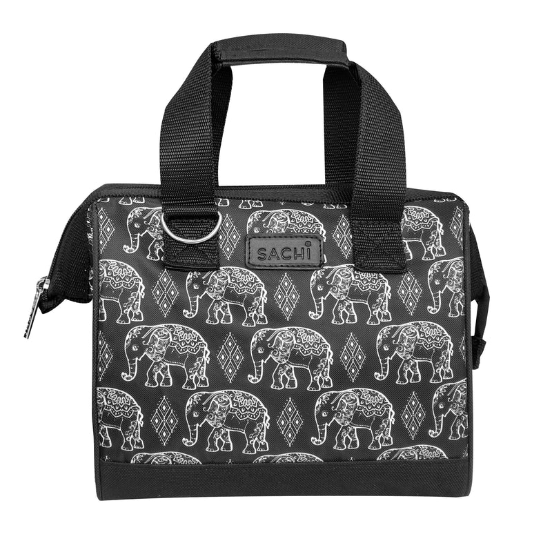 Sachi Style 34 Insulated Lunch Bag Boho Elephants 8828BE