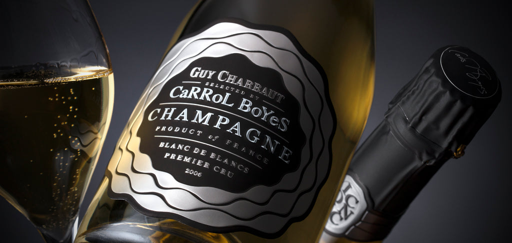 Carrol Boyes Iconic Champagne Premier Cru Blanc de Blancs 2006 (Imported)-BLACK FRIDAY SALES - LESS 35% (NORMAL PRICE: R1500)
