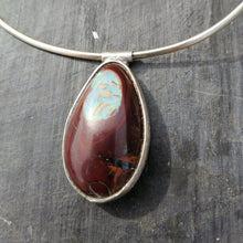 Load image into Gallery viewer, Yowa Nut Opal Necklace