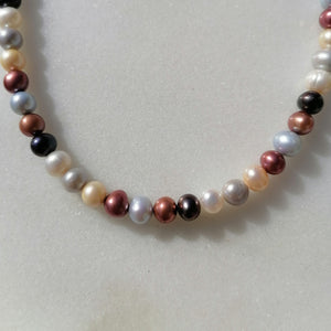 Multi Coloured Pearls