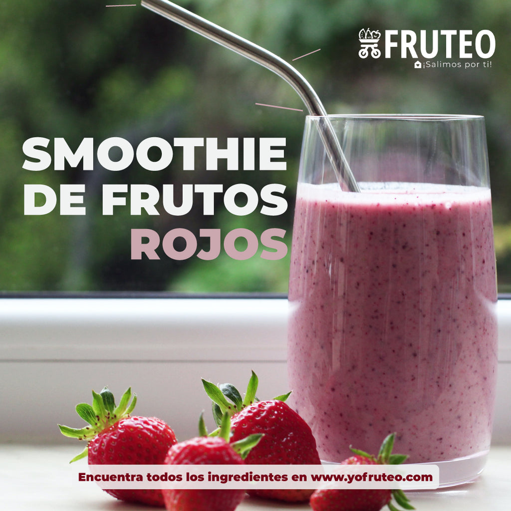 Smoothie de Frutos Rojos 🍒🍇🍓